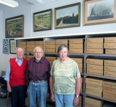 Nøvling arkiv personale