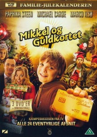 Jacob Banke Olesen, Bo Hansen, Nikolaj Scherfig, Christian E. Christiansen: Mikkel og guldkortet. Disc 1, afsnit 1-8