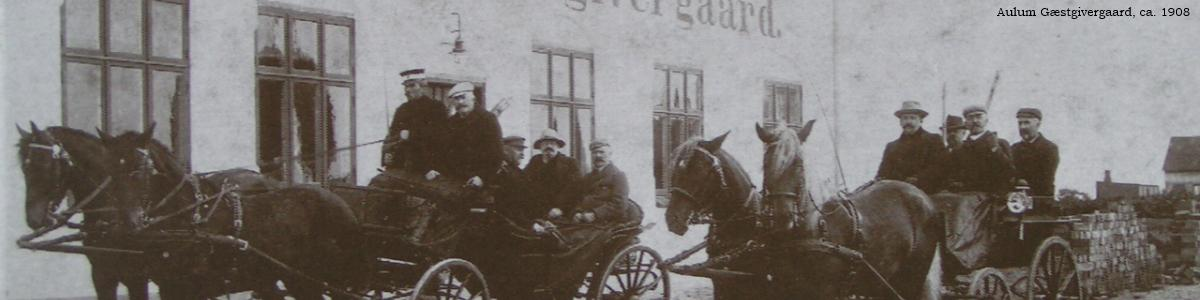 Aulum Gæstgivergaard ca. 1908-10